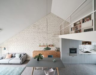 Space-Savvy Family Apartment in Beijing with a Smart Mezzanine Level