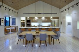 Shades of Cedar and Gable Roofs Create Modern Classic Home in Tennessee
