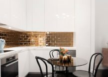 Gorgeous-gold-mirrored-tiles-for-a-sensational-kitchen-backsplash-217x155