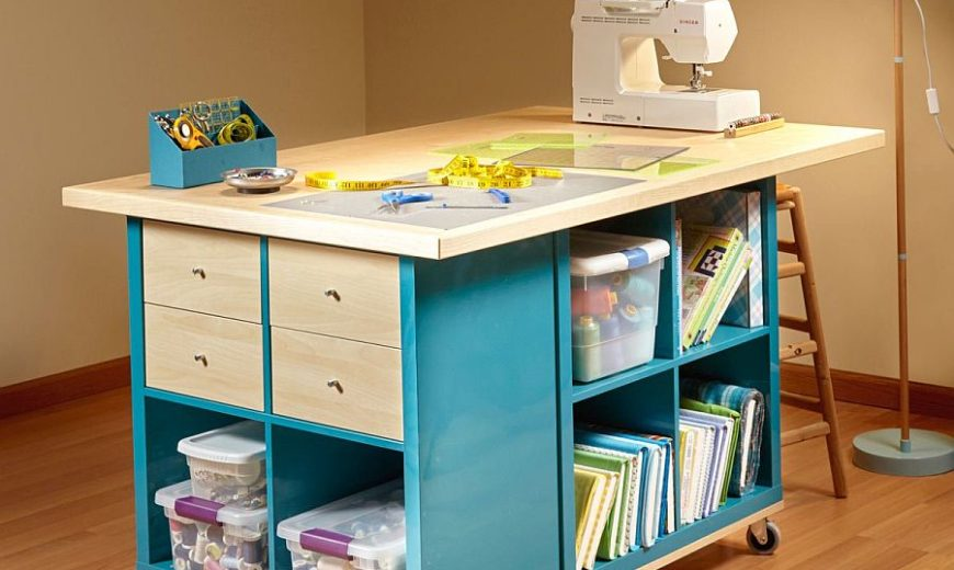 20 DIY Craft Tables and Desks