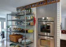 Multi-level-kitchen-cart-on-wheels-offers-flexible-storage-217x155