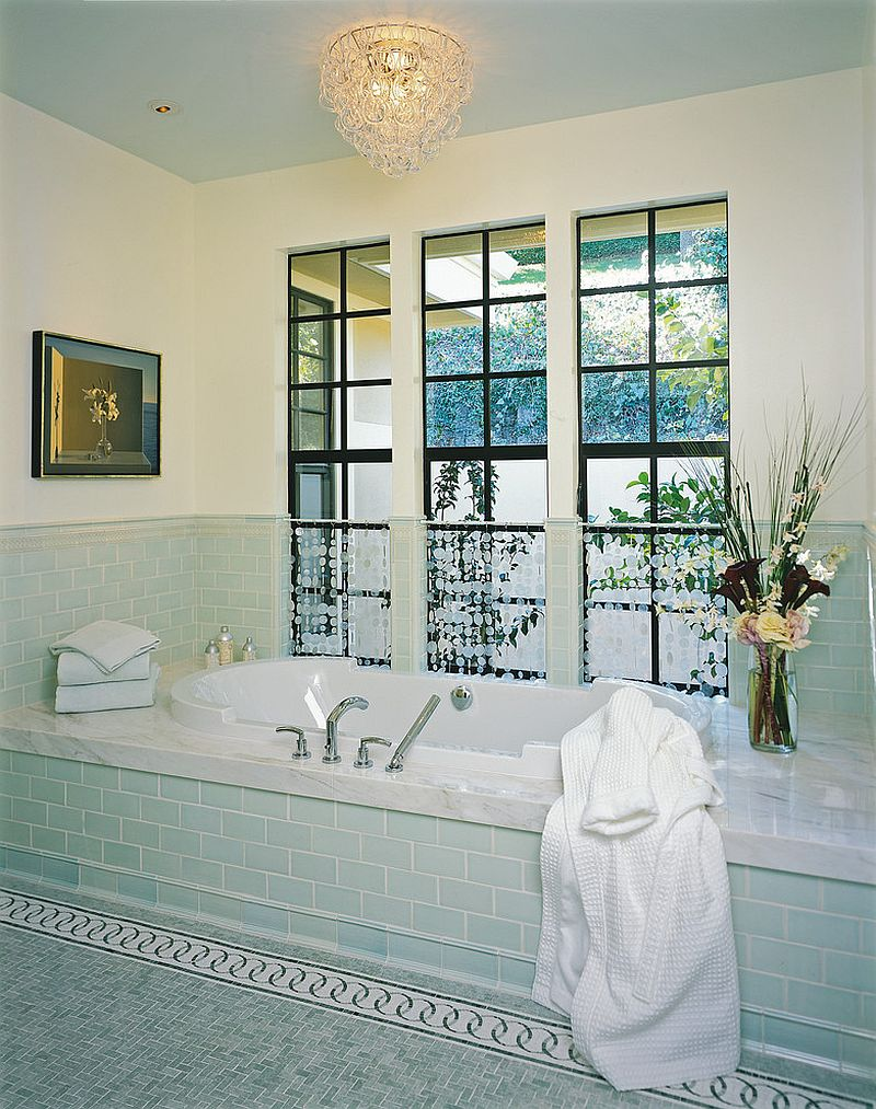Pastel-green-tiles-for-the-traditional-bathroom