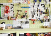 Pegboard-wall-is-the-perfect-way-to-organize-the-garage-with-ease-and-quickly-217x155