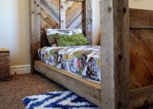 Rustic-barnwood-twin-bed-with-chevron-pattern-headboard-217x155