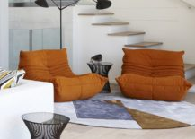 Togo-Sofa-in-orange-is-a-showstopper-no-matter-where-it-sits-217x155