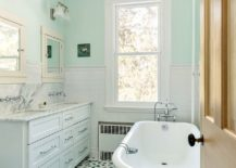 Try-out-different-shades-of-green-in-the-bathroom-with-white-backdrop-217x155