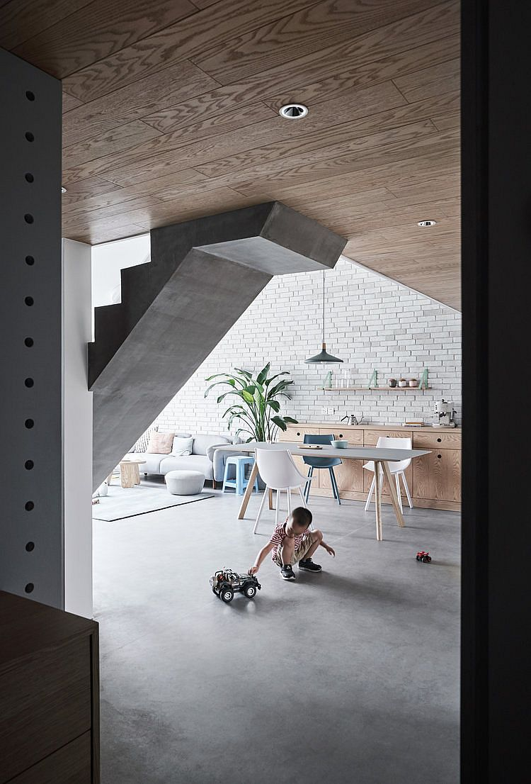Utilizing-space-under-the-mezzanine-level-inside-the-modern-urban-apartment