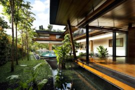 Magical Botanica House: Spectacular Green Home in Singapore Embraces the Elements