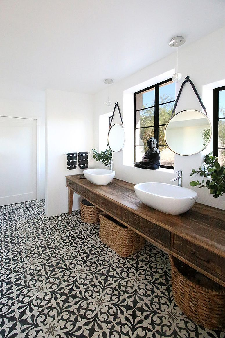 Wood-and-white-bathroom-with-a-dash-of-Oriental-charm
