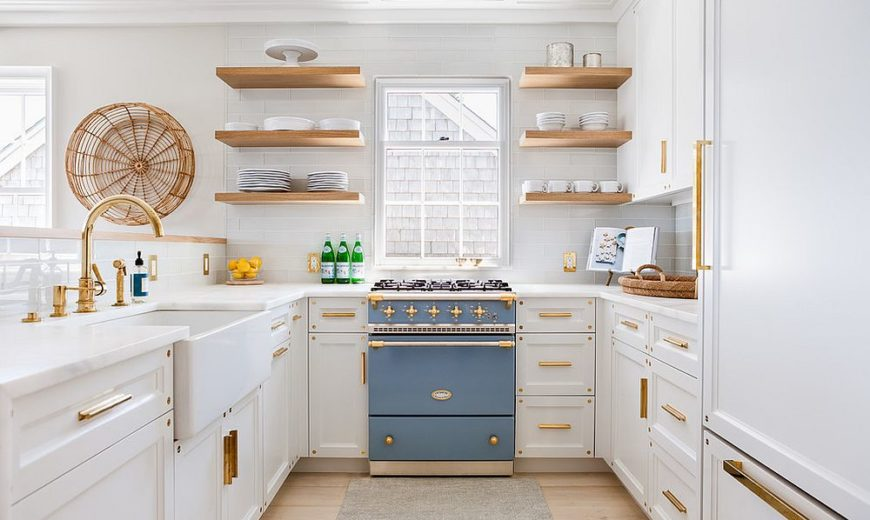 Best Accent Colors for a Bright, White Kitchen