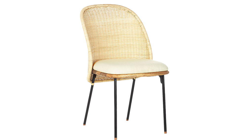 Woven dining chair from CB2