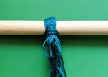 Wrapping-the-yarn-around-the-dowel-217x155