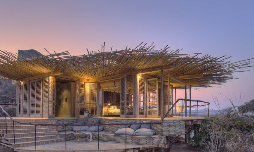 Amazing Planet-Friendly Lodge Overlooks Wild African Serengeti