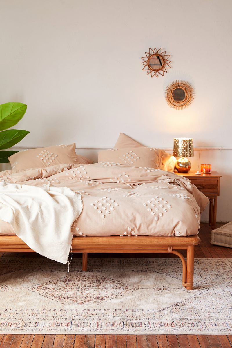 Boho chic dorm decor from Urban Outfitters
