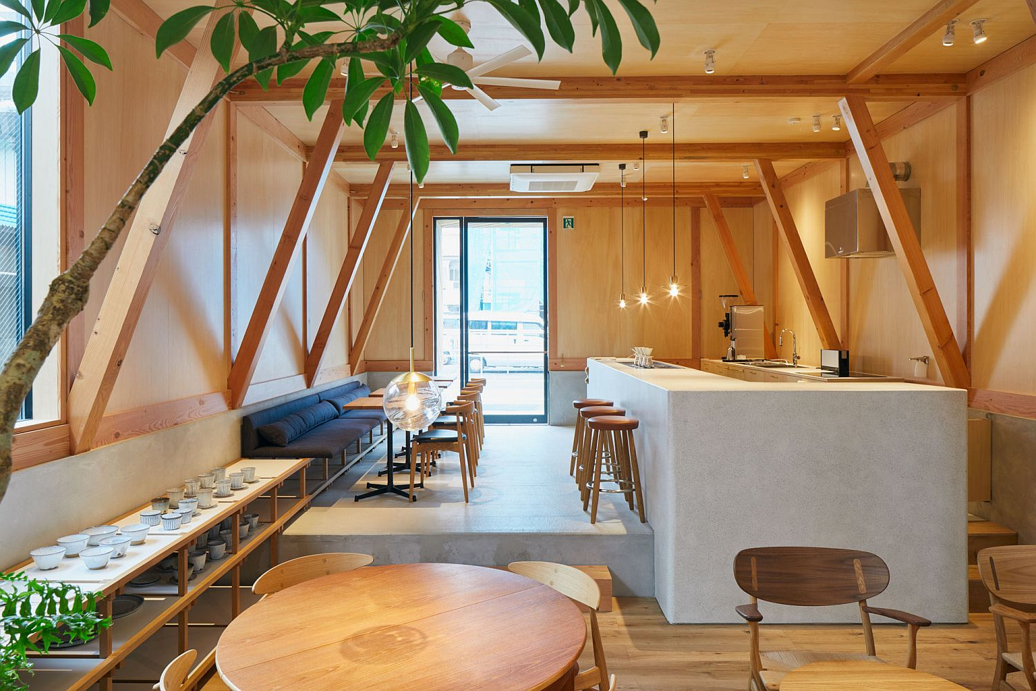 Cafe-and-modern-Japanese-home-rolled-into-one-across-multiple-levels