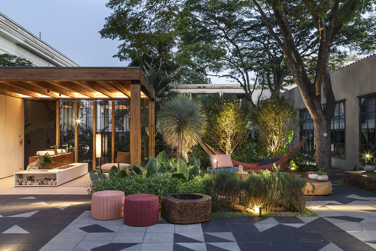 Create a personal escape with smart terrace and ample greenery