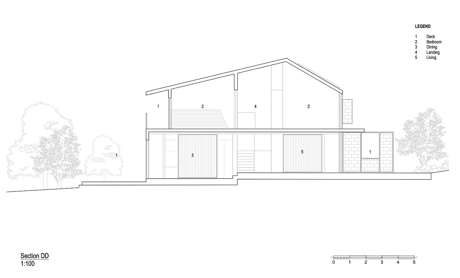 Design plan of the Stonewood house
