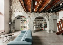 Fabulous-refurbishment-of-150-year-old-home-in-Spain-with-stone-walls-and-ceiling-beams-217x155