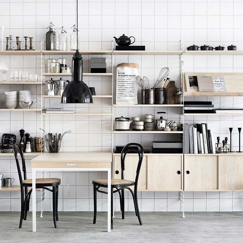 Freestanding modular unit can be added to any kitchen to improve its storage capacity