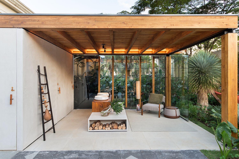Gorgeous Nohara Terrace designed by Lucas Takaoka in Sao Paulo