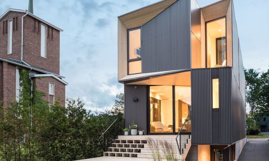This Exclusive Suburban House in Toronto is All About Geometric Brilliance