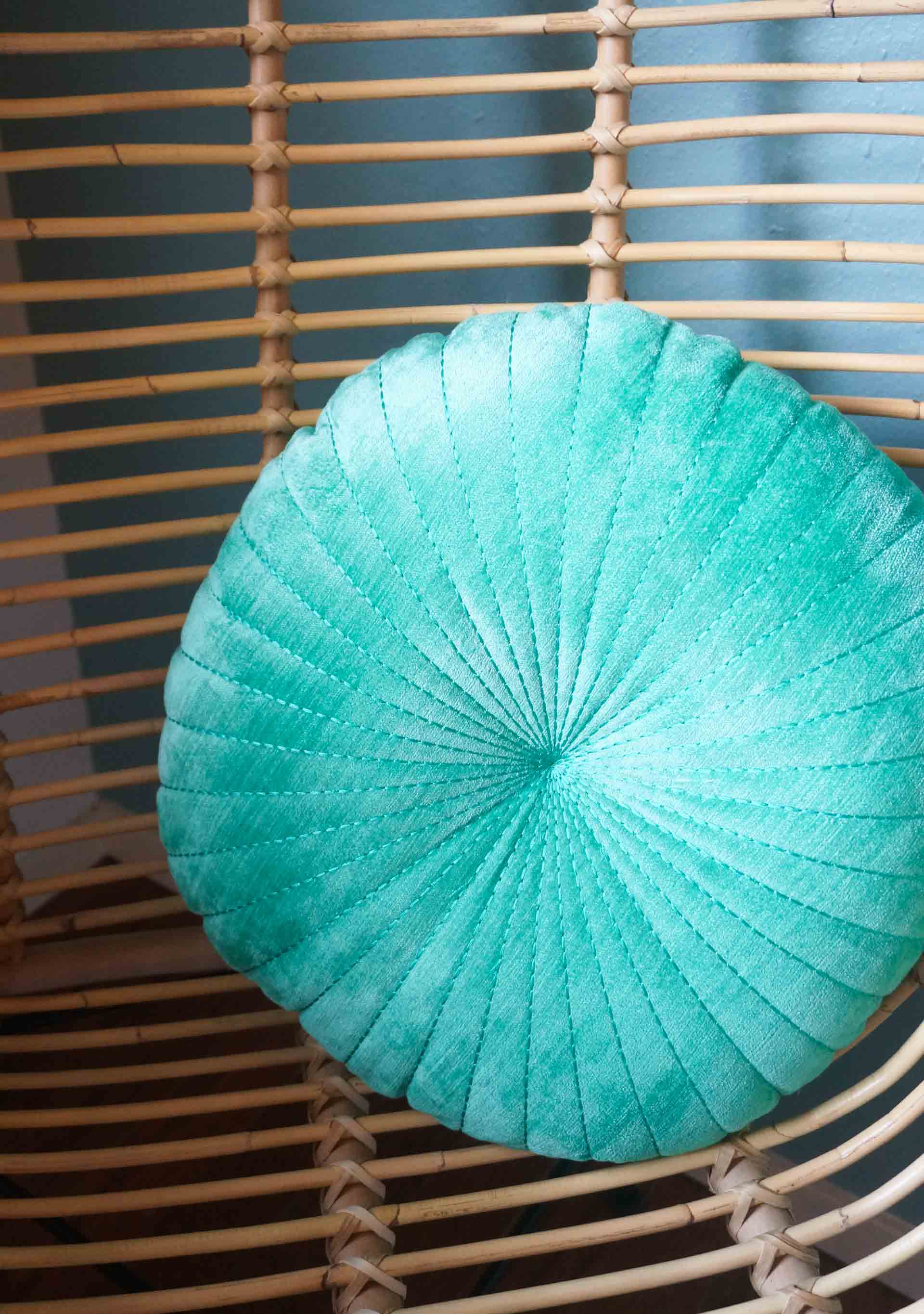 Round shell pillow from Urban Outfitters
