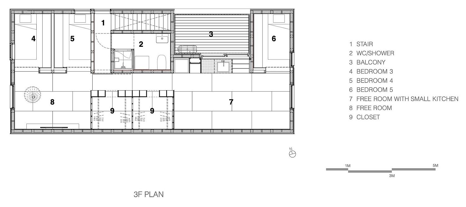 Second-level-floor-plan-with-bedrooms-and-private-spaces