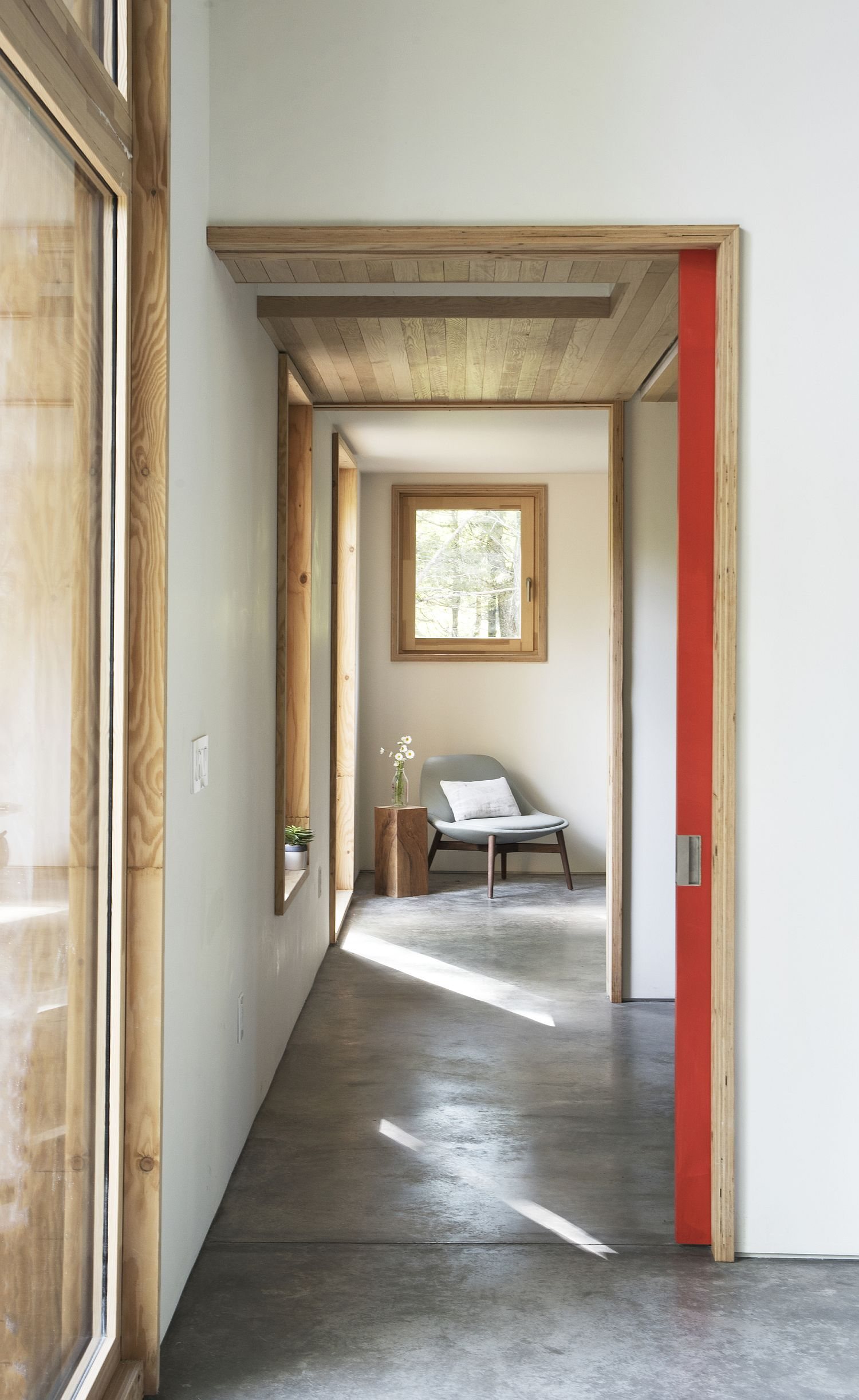 Smart design inside the home maximizes passive heating and cooling techniques