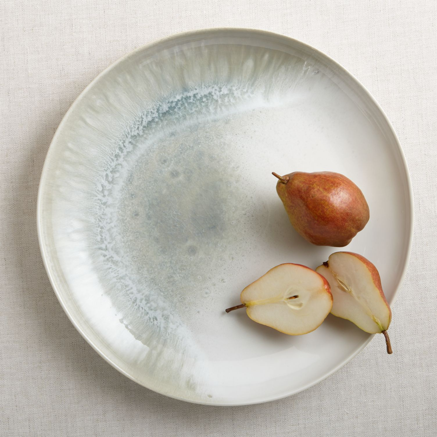 Stoneware platter from Crate & Barrel