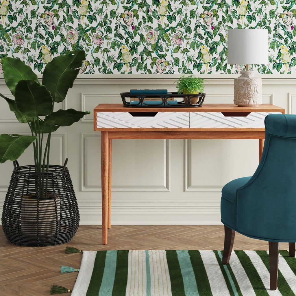 Two-tone writing desk from Target