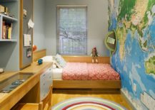Contemporary-kids-room-of-New-York-home-with-a-map-on-the-accent-wall-217x155