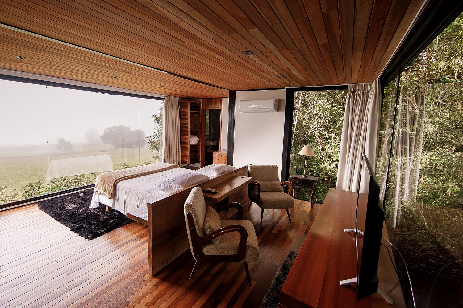 Cost-effective and eco-friendly cabin design in Brazil