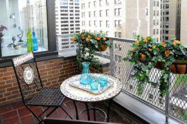 Small Balcony Decorating Ideas with an Urban Touch: 25 Ideas, Photos