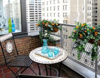 Small Balcony Decorating Ideas with an Urban Touch: 25 Ideas, Photos