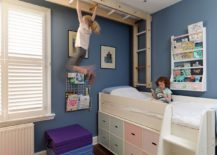 Dashing-kids-bedroom-with-climbing-wall-monkey-bars-and-smart-under-bed-storage-217x155