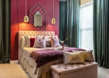 Delightful-combination-of-pink-and-gray-in-the-bedroom-217x155