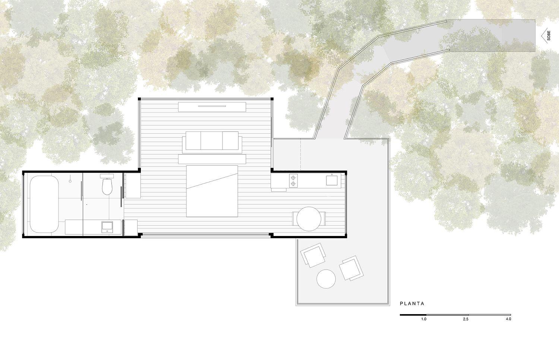 Floor-plan-of-Bosque-Refuge-by-Bruno-Zaitter-arquiteto