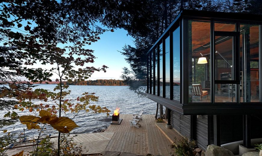 Boathouse on Kawagama Lake: Lakeside Delight Perfect for Fun and Relaxation