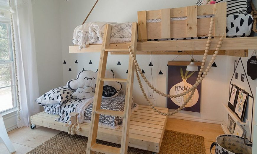 25 Space-Savvy Small Kids' Bedroom Solutions: From Bunk Beds to Smart Shelves