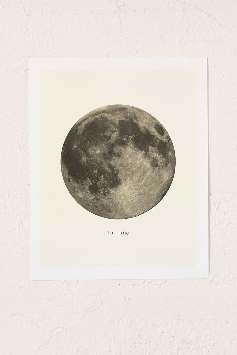 Moon-art-print-from-Urban-Outfitters
