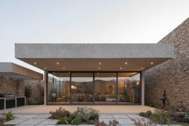 Stunning Contemporary Home in Chile Made from Stone, Glass and Concrete