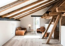 Small-modern-rustic-living-room-in-the-attic-in-white-217x155