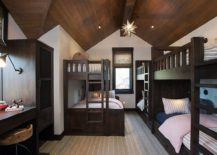 Spacious-kids-room-with-vaulted-ceiling-and-multiple-bunk-beds-217x155