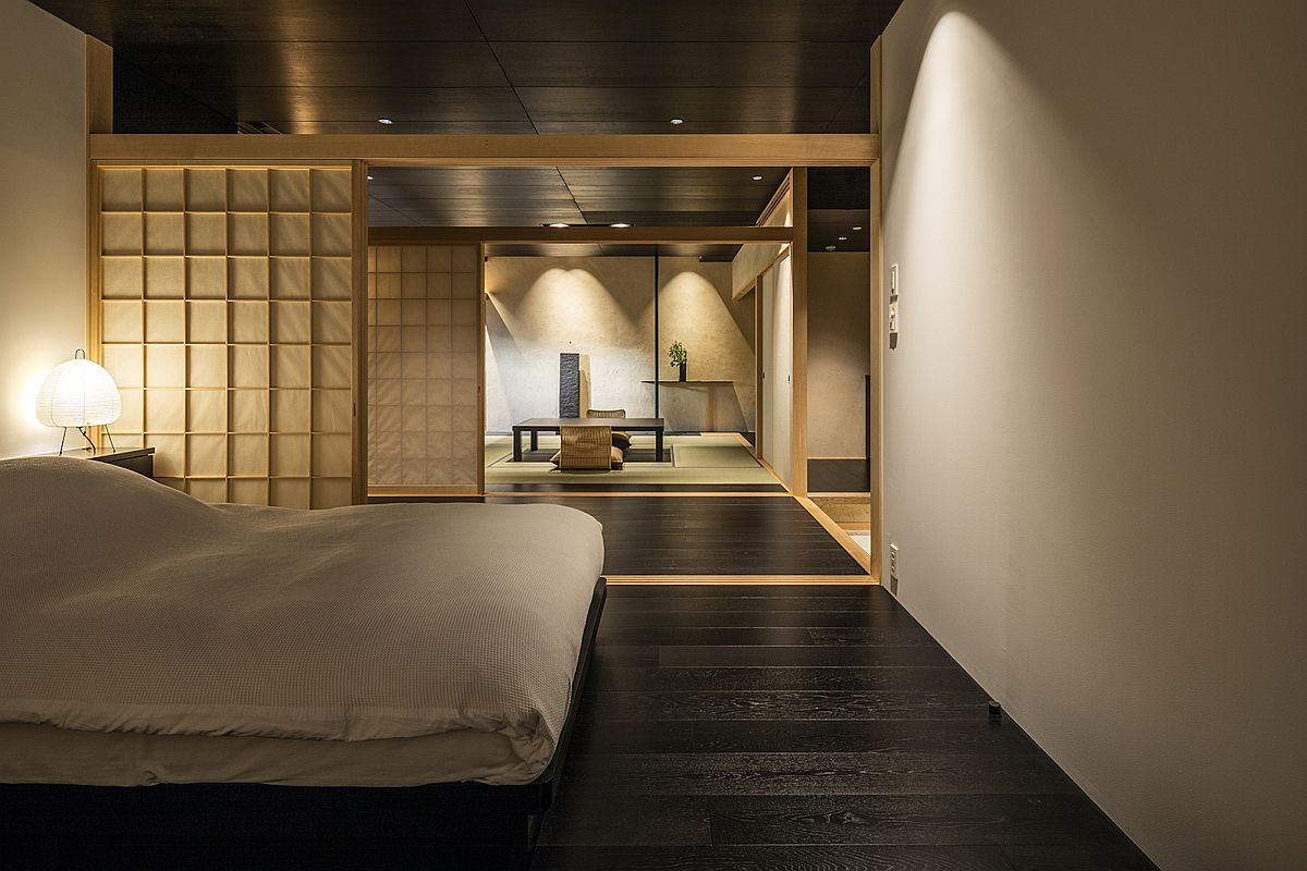 Stunning Japanese minimal bedroom feels relaxing and elegant