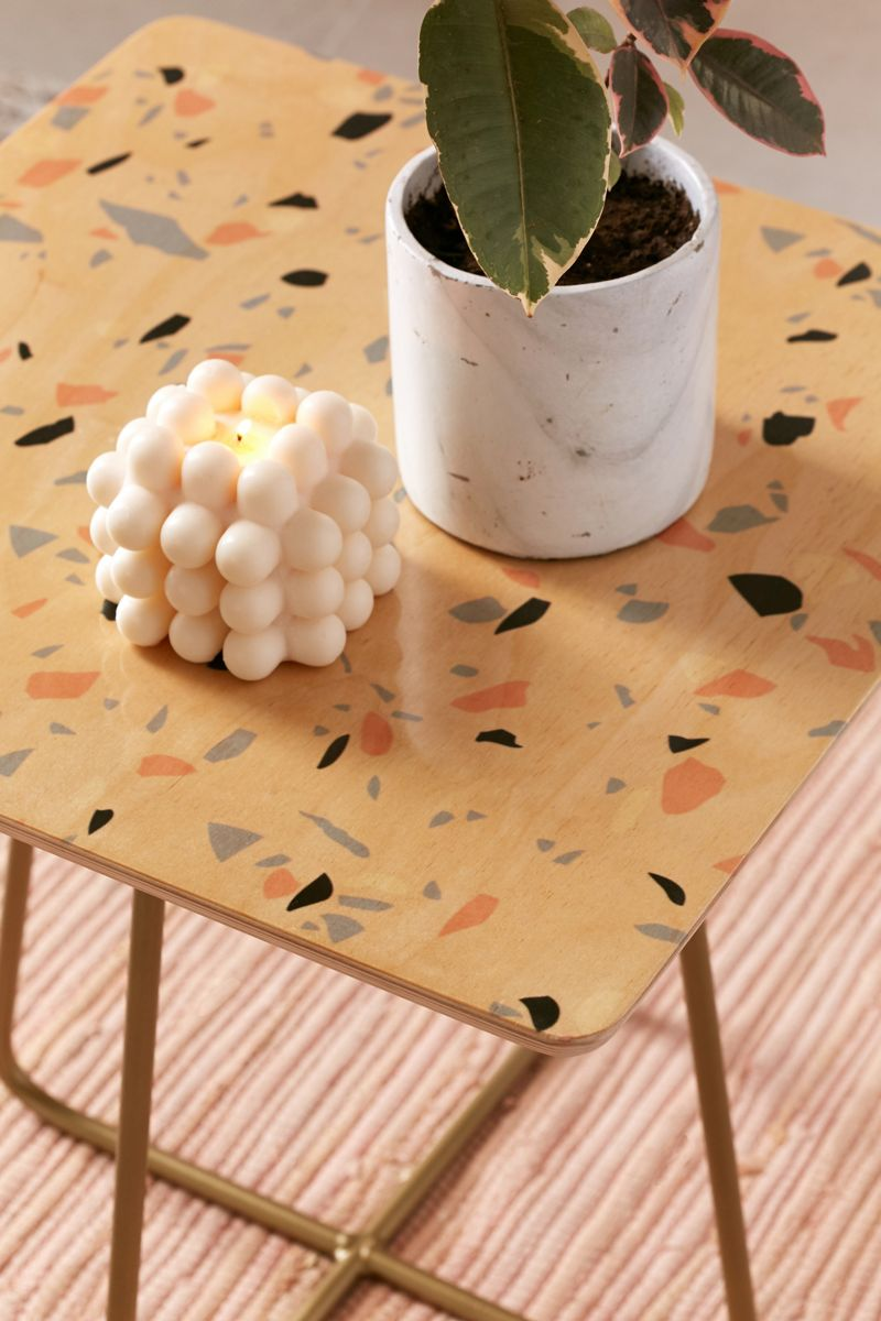 Terrazzo table from Urban Outfitters