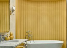 Unique-yellow-accent-wall-for-the-modern-bathroom-using-colorful-floor-tiles-217x155