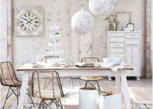 Blend-of-mdoern-shabby-chic-and-coastal-touches-in-the-dining-space-217x155