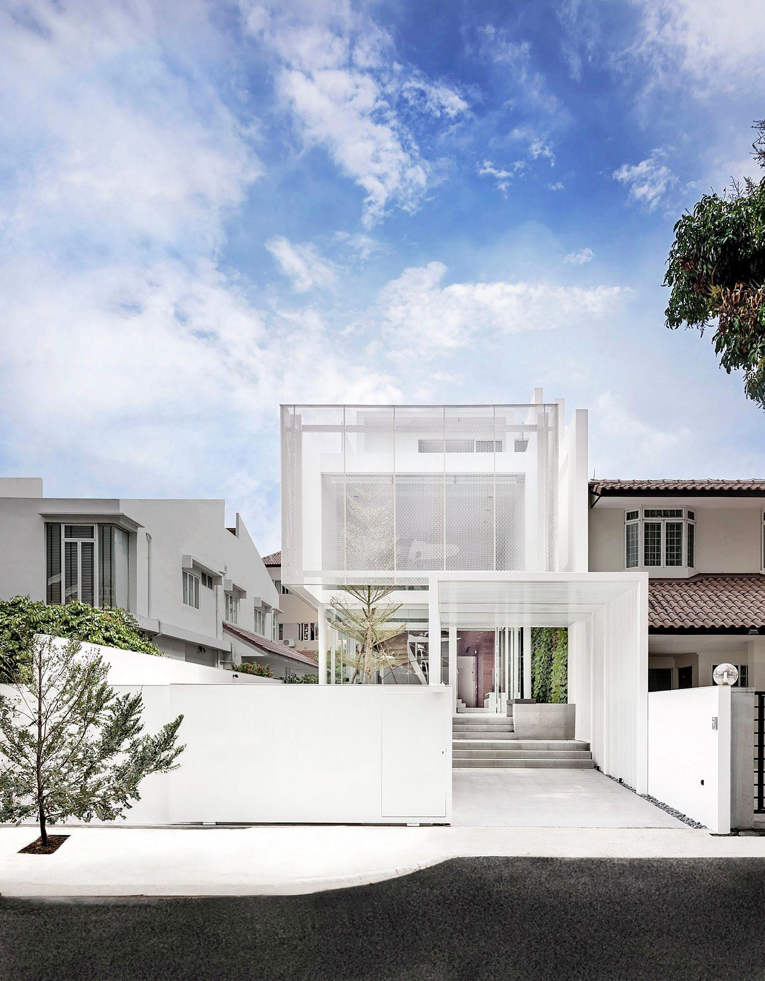 Design of contemporary home in Singapore