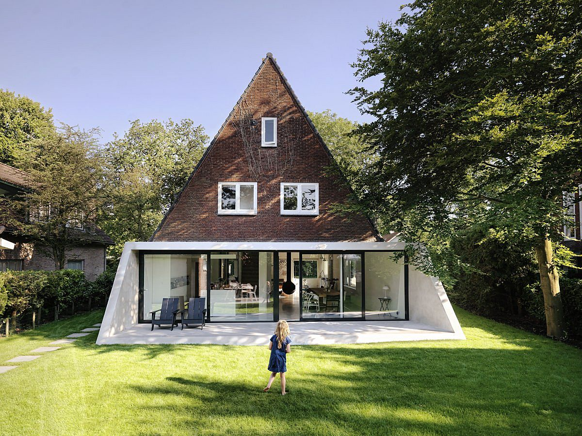 Extended and Revamped 1930s House Gives New Expression to the Classic A-Frame