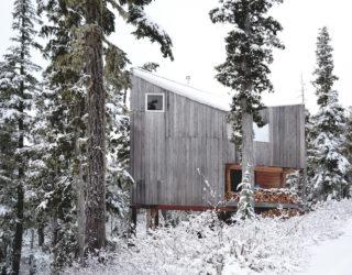 Fabulous Ski Slopes Surround this Woodsy Alpine Cabin on Vancouver Island